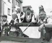 El desfile de la fiesta de las Piragüas