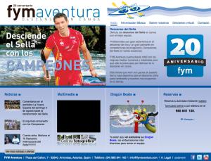 fym aventura,Descenso del Sella en canoa. turismo activo, picos de europa, sella canoas