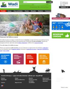 WadiDescenso del Sella en canoa. Turismo activo, picos de europa, sella canoas