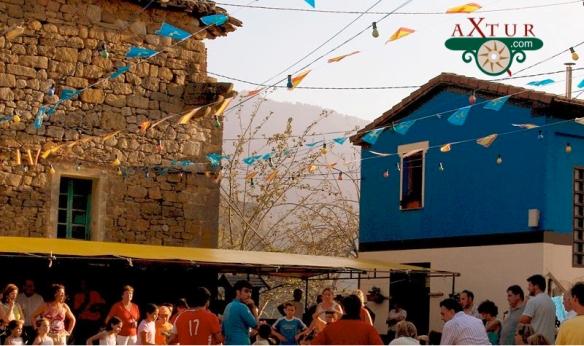 Fiesta en un pueblo de los Picos de Europa. Fiesta en Cazo, Ponga