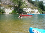 En las aguas del Sella